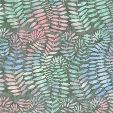Artisan Batik Fronds-grey