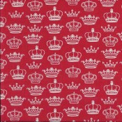 LONDON-Crowns patchwork textil