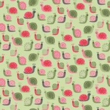 Snails girl,patchwork textil