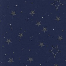 Magic-Lucky Stars/Metallic blue